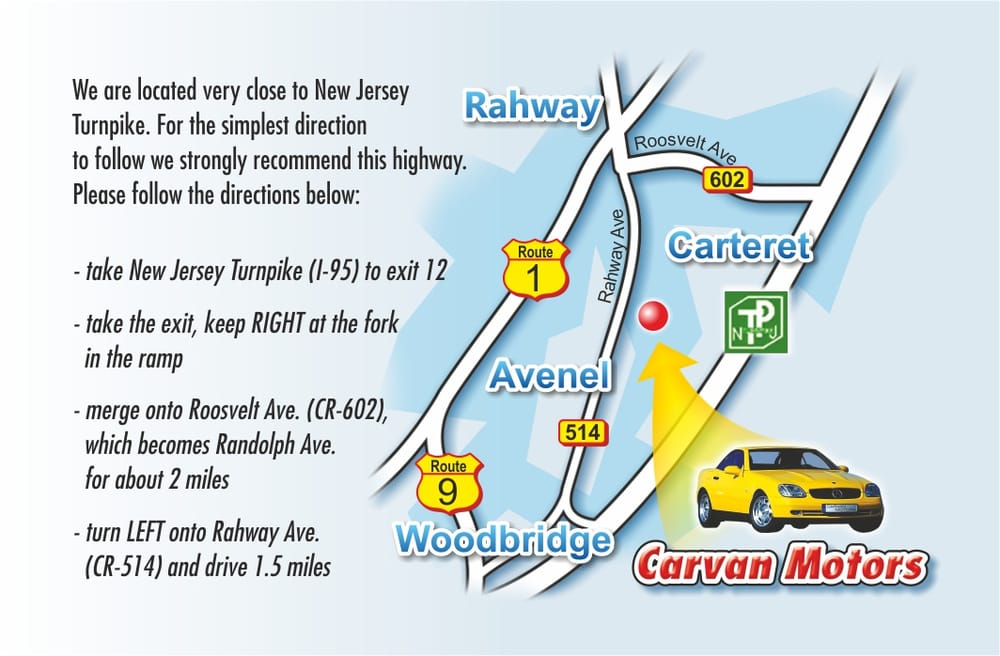 Carvan Motors Corp - Body Shops - 1310 Rahway Ave, Avenel, NJ - Phone Number - Yelp