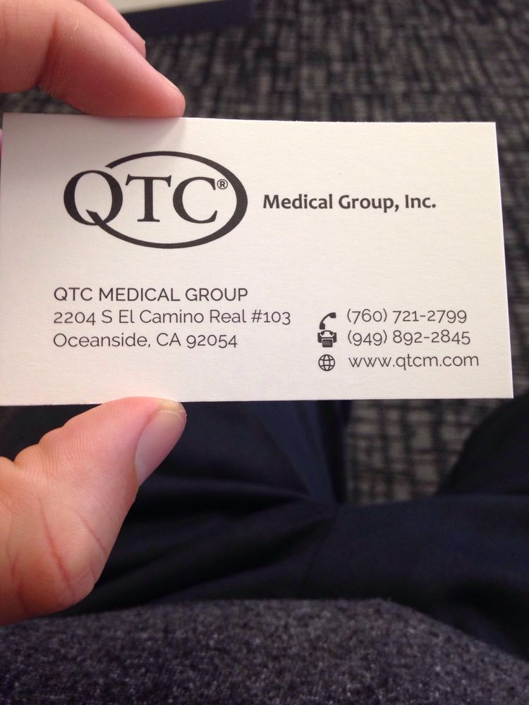 Qtc Medical Group Medical Centers 2204 S El Camino Real