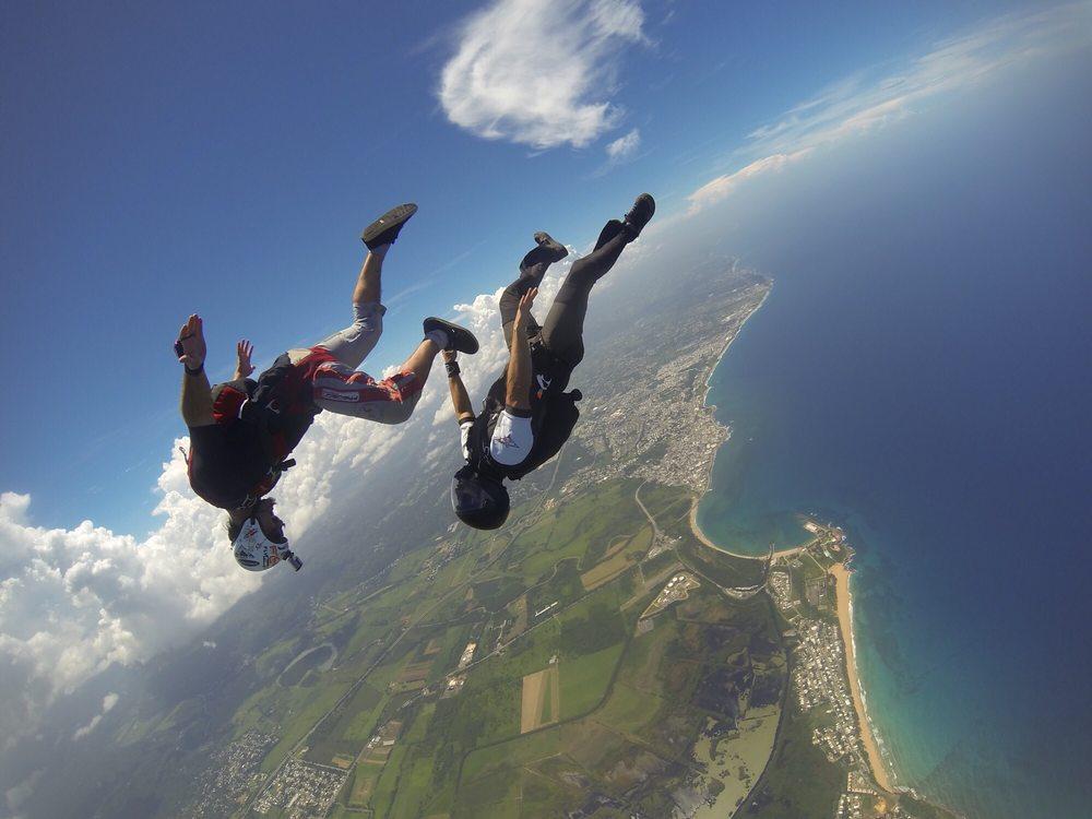 Skydive Puerto Rico: Aeropuerto Regional Antonio Nery Juarbe Pol, Arecibo, PR