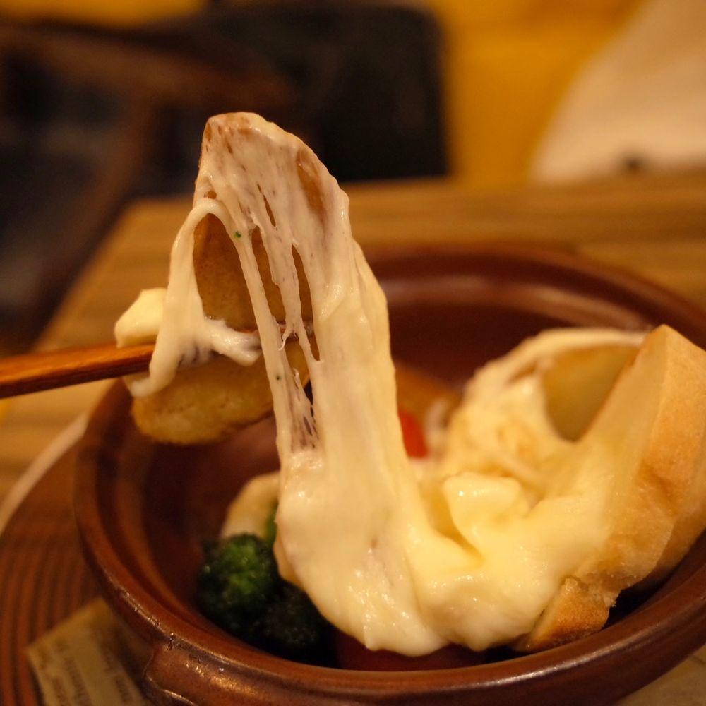 HOKKAIDO Cheese Fondue Factory SUMI RICH Shibuya Ekimae