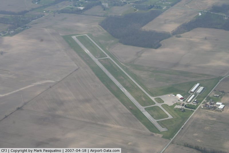 Crawfordsville Regional Airport: 759 W 400th S, Crawfordsville, IN