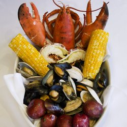 Photo Of Atlantic Fish Boston Ma United States Lobster Feast