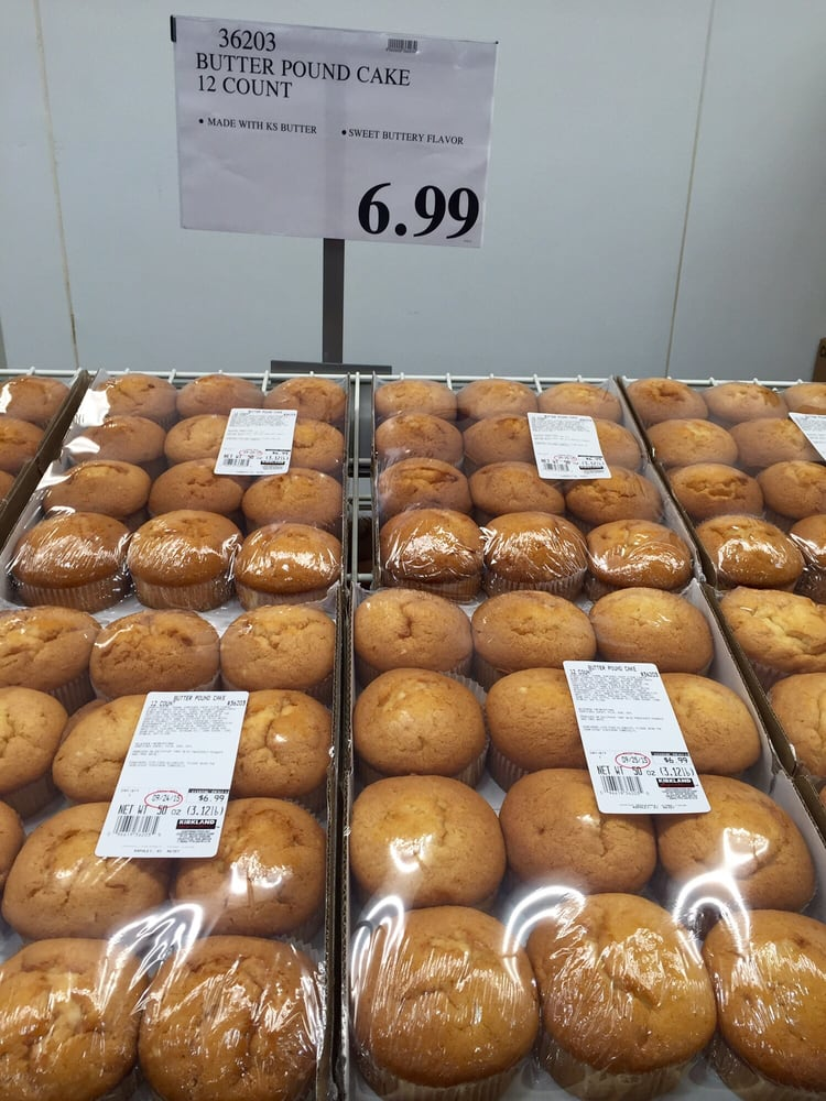 Costco Butter Pound Cake Muffins