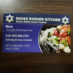 Nava S Kosher Kitchen Davie Fl