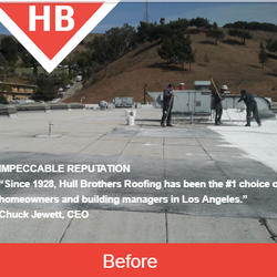 Photo of Hull Brothers Roofing Company - Culver City CA United States. Commercial : jewett roofing - memphite.com