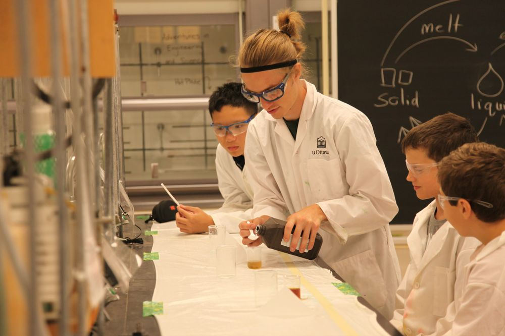 Get a taste for science by performing chemistry experiments in real