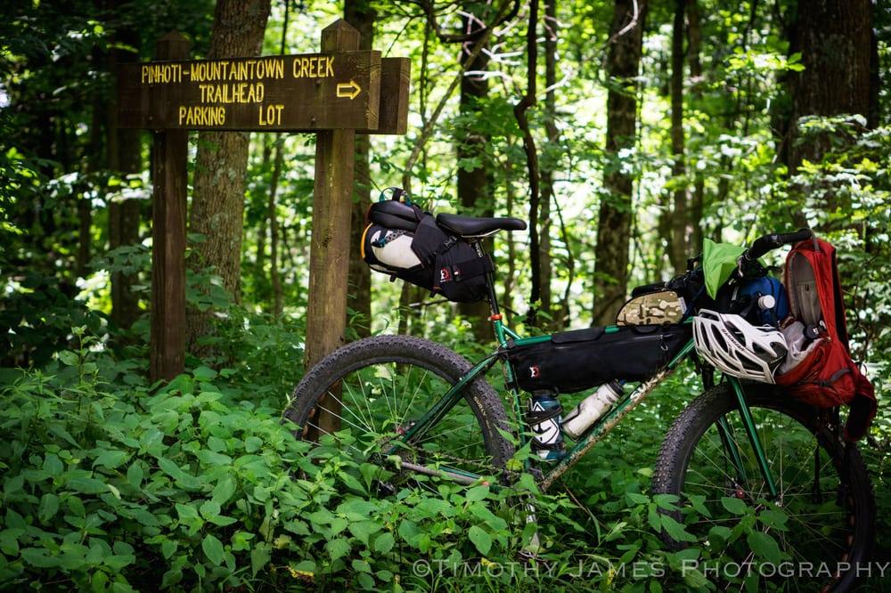 Mulberry Gap Mountain Bike Get-A-Way: 400 Mulberry Gap Rd, Ellijay, GA