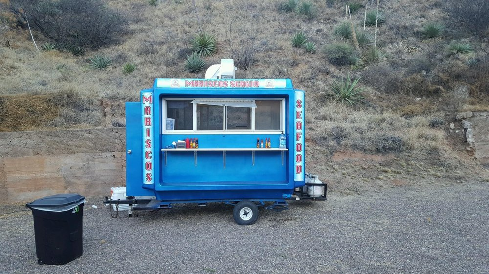 Mariscos Sergio: 123 Tombstone Canyon Rd, Bisbee, AZ