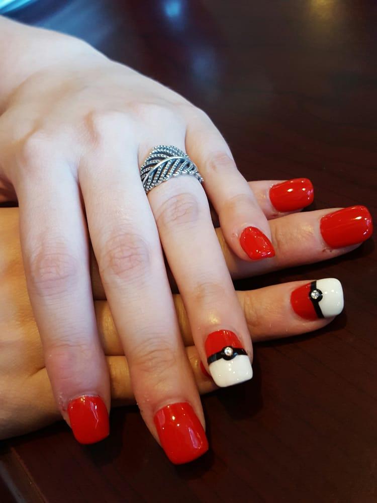 Pokemon nails by Wendy at Jade Nails and Spa! Yay! - Yelp