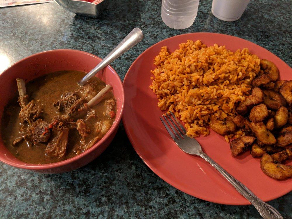 Tfk african restaurant: 2348 W Columbus Dr, Tampa, FL