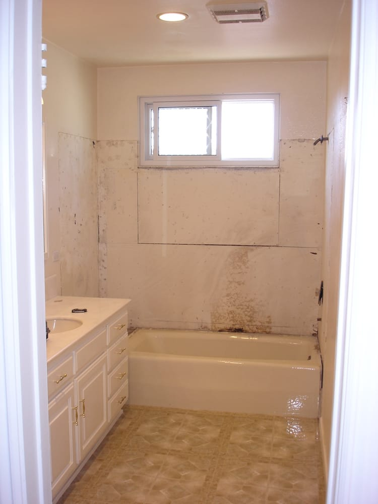Small bathroom remodel before yelp for Bathroom remodel yelp