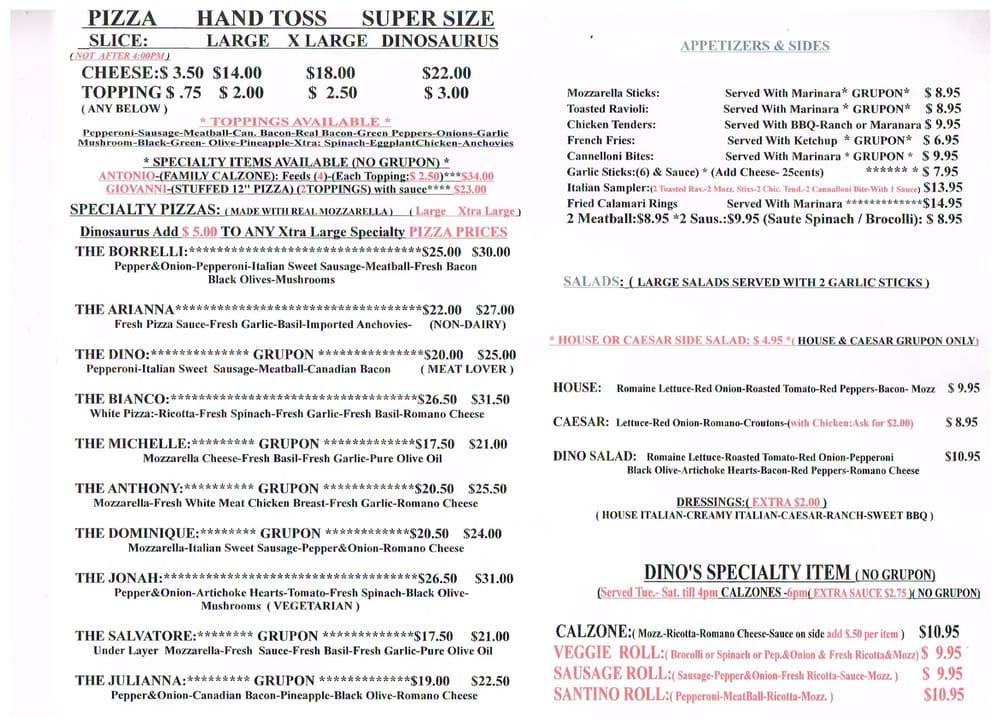 Carryout menu pg2 yelp for Carryout menu