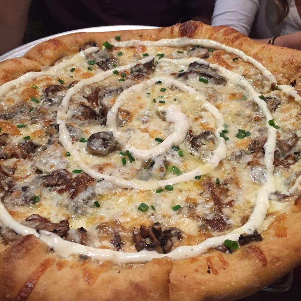 Holy Shiitake Mushroom Pizza - so delicious!!! - Yelp
