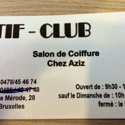 Salon de Coiffure Chez Aziz - Coiffeurs & salons de coiffure - Rue ...