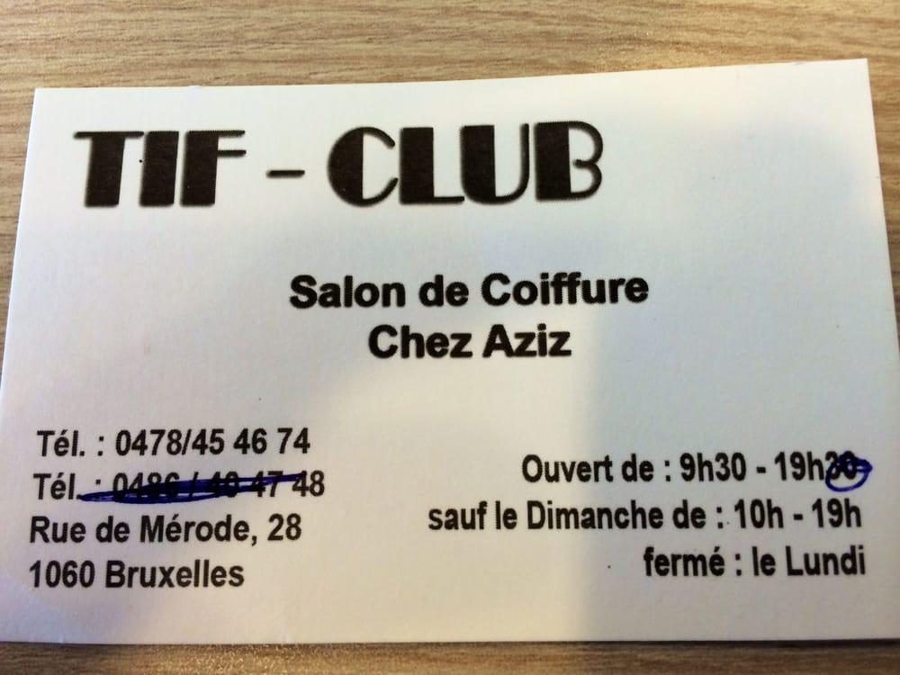 Salon de coiffure chez aziz coiffeurs salons de for Porte revue salon de coiffure