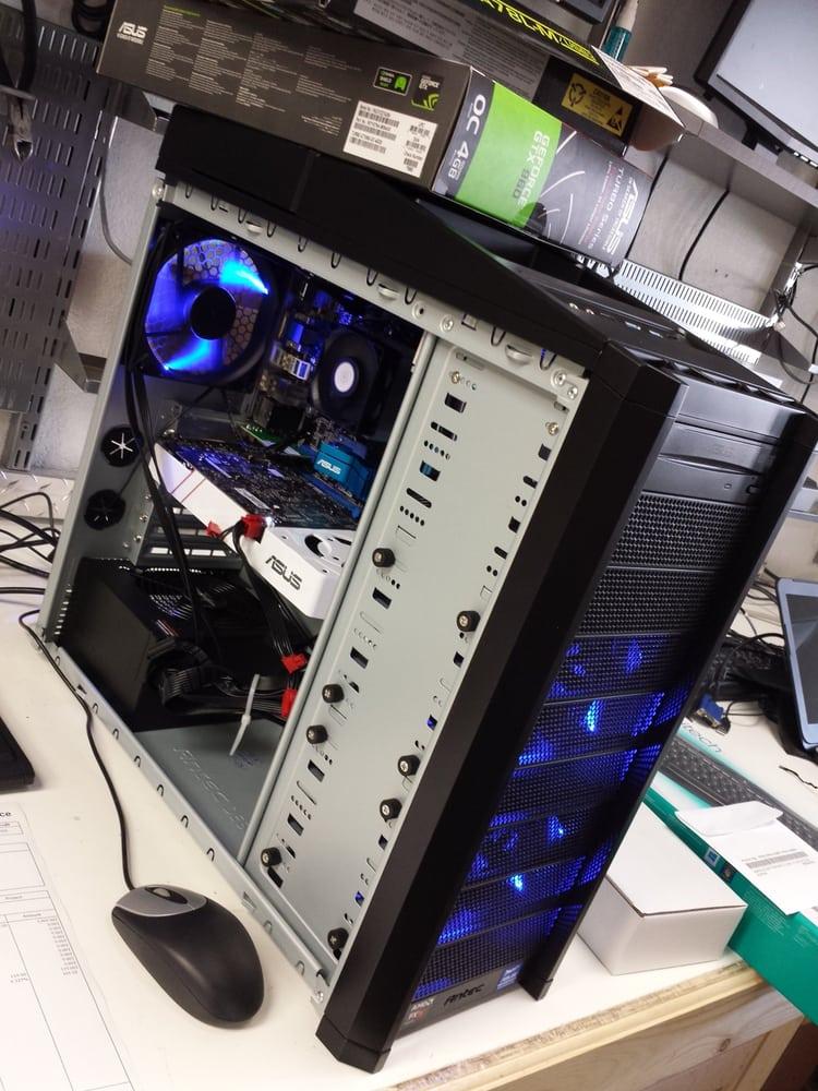 computer battle