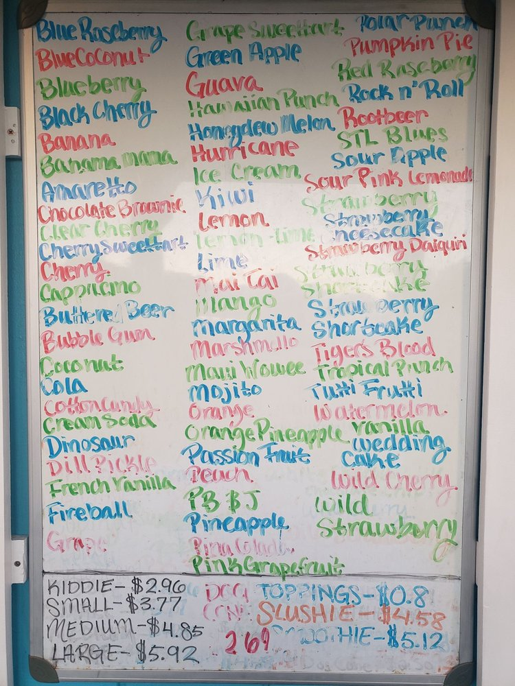 Ty's Summer Sno: 506 W Main, Jackson, MO