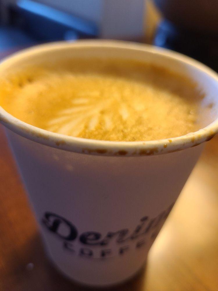 Food from Denim Coffee
