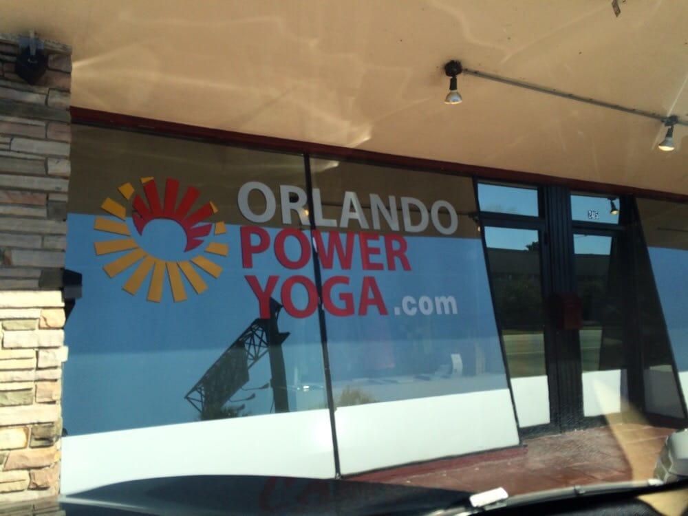 Orlando Power Yoga: 2415 E South St, Orlando, FL