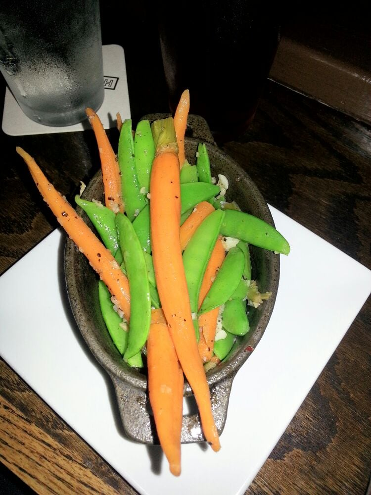 Snow Peas & Carrot side dish - si incredibly tasty! - Yelp