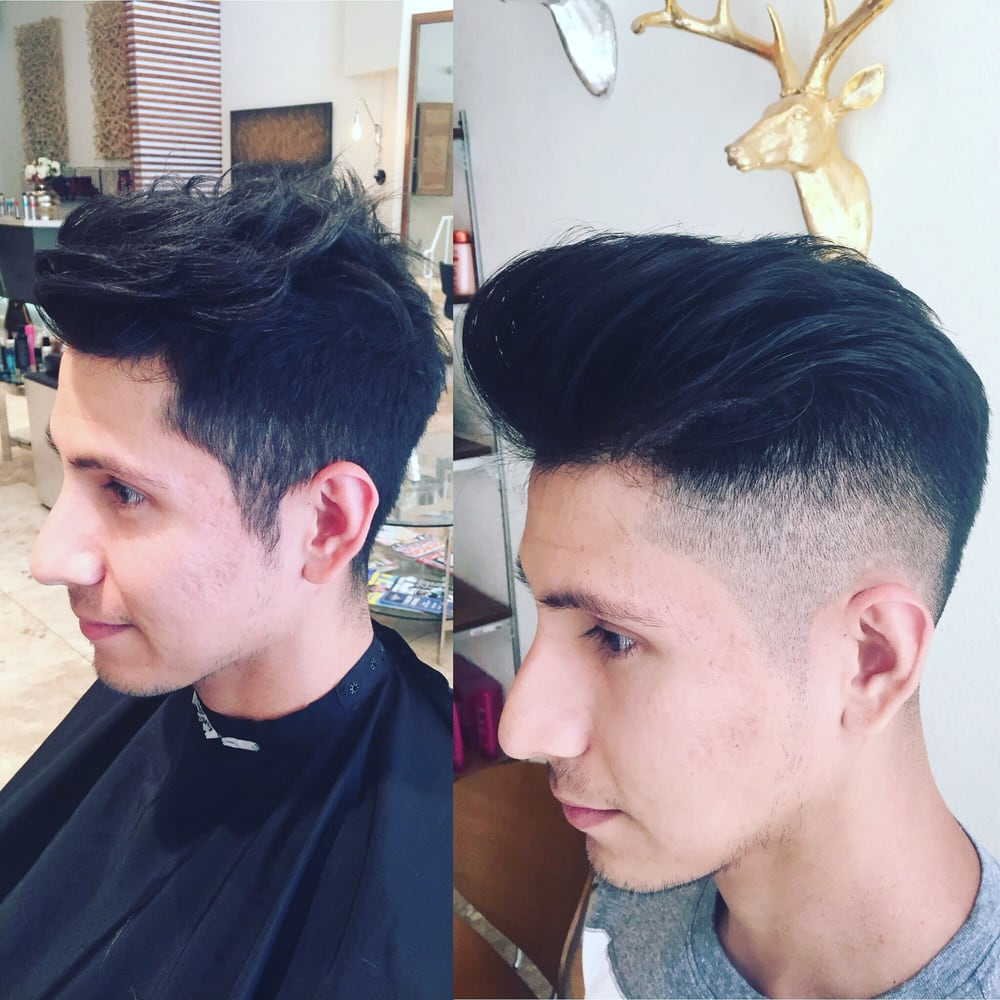 A Fade Or A Simple Short Taper Cut But I Like To Call It An