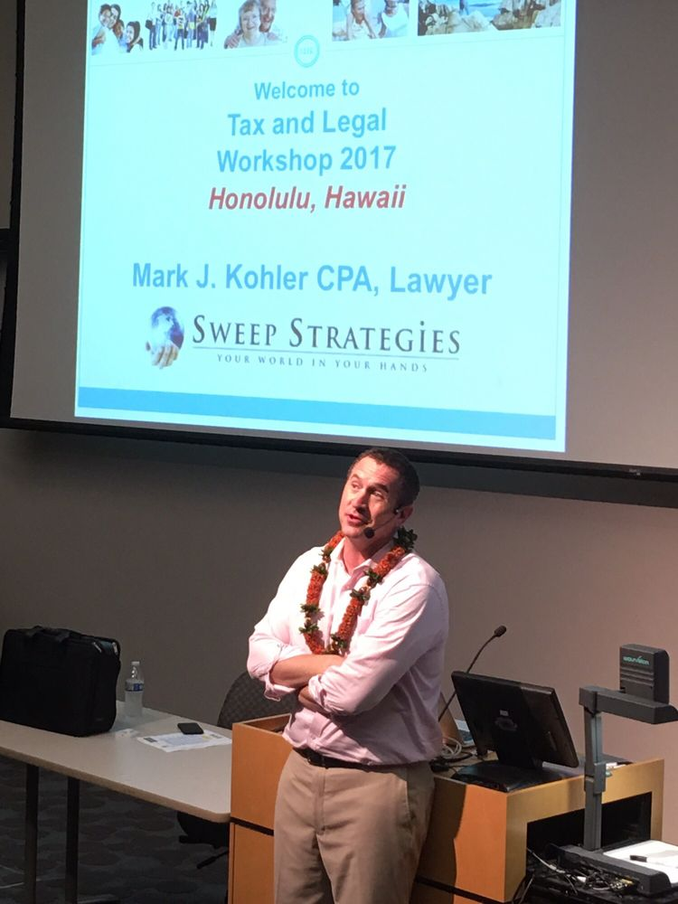 learning more from mark kohler thanks to sweep strategies