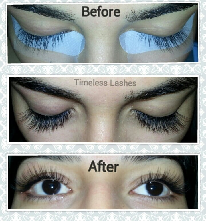 Stick Straight Long Lashes To Full Voluminous C Curl Eyelash