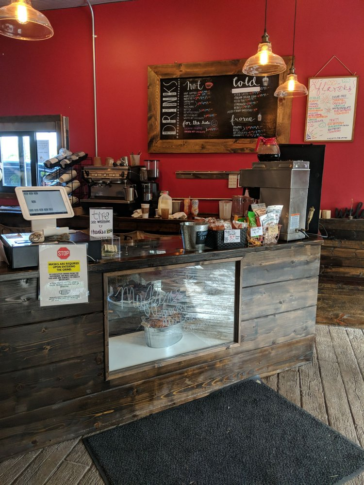 The Grind Coffee House: 111 River St, Manistique, MI