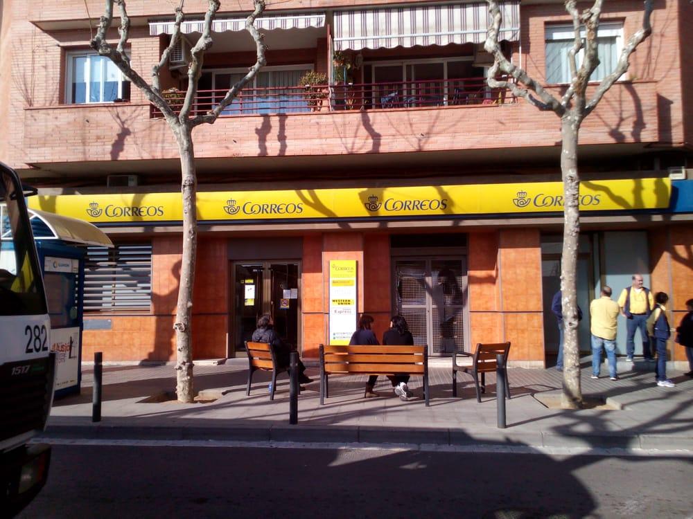 Oficina de correos posthuse carrer gran via de llu s for Oficina correos barcelona