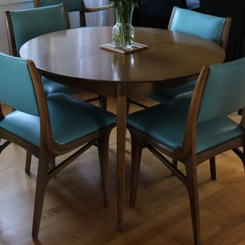 Photo of Len s Upholstery   Seattle  WA  United States  Midcentury dining  chairs reupholstered. Len s Upholstery   17 Reviews   Furniture Reupholstery   2207 19th