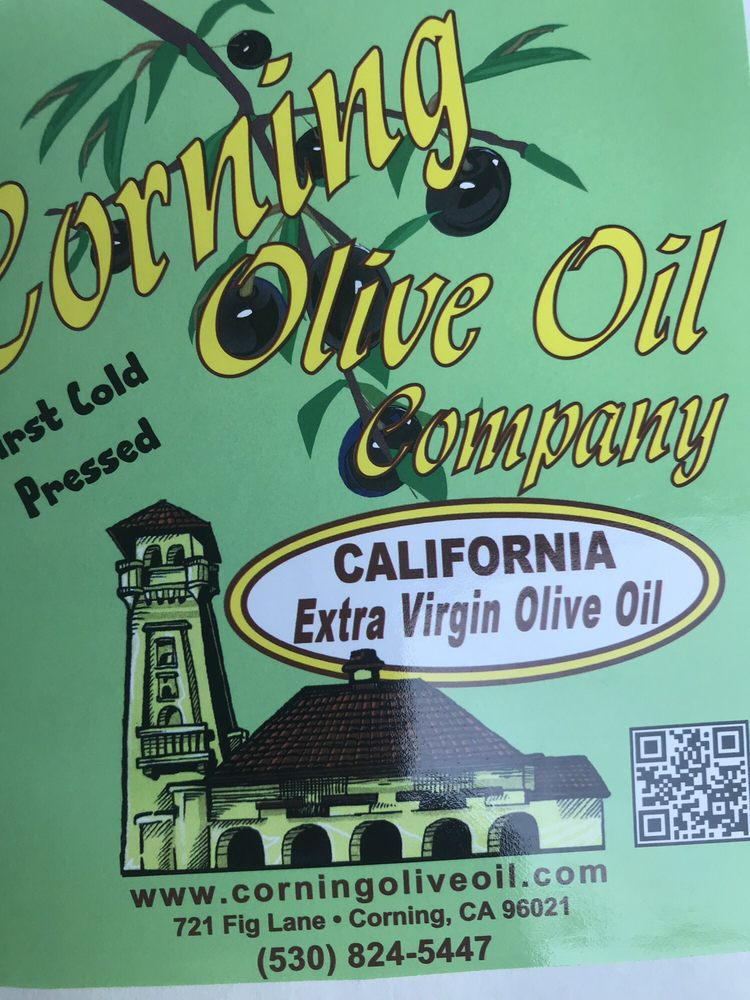 Corning Olive Oil Company: 721 Fig Ln, Corning, CA
