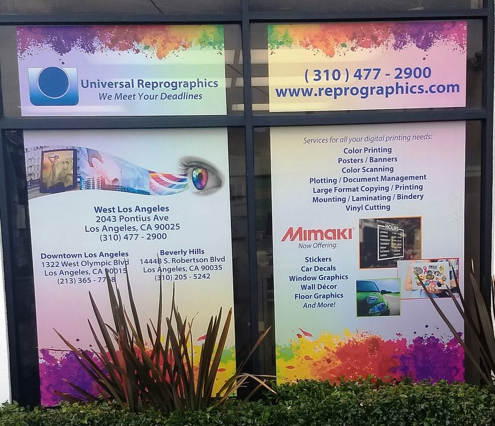 Universal Reprographics - Printing Services - 2043 Pontius