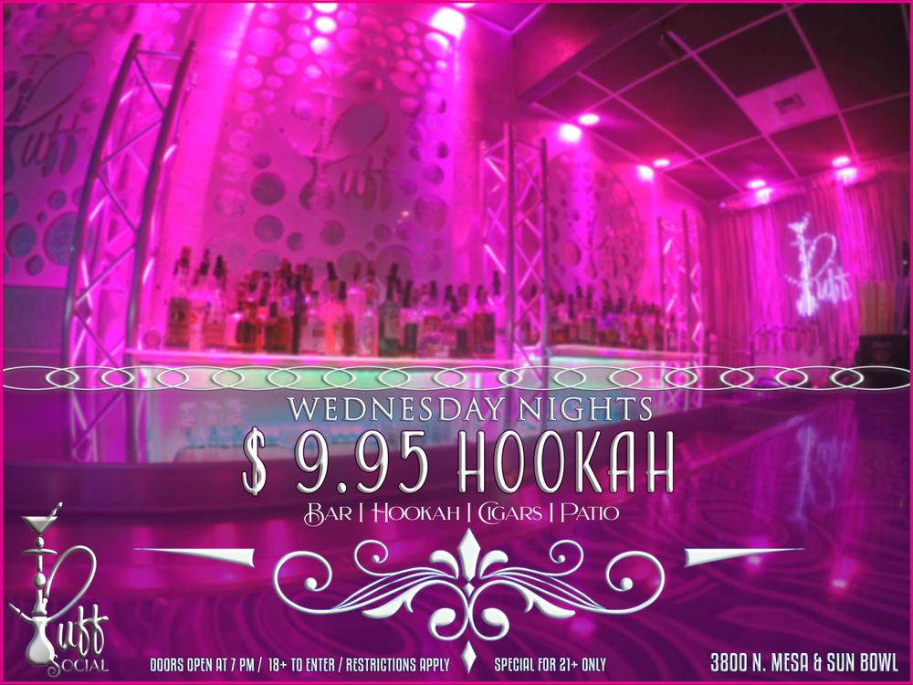 Puff Social Hookah & Cocktail Lounge