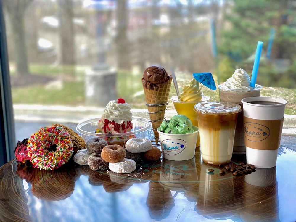 Ohana Donuts & Ice Cream: 11640 Brooks School Rd, Fishers, IN