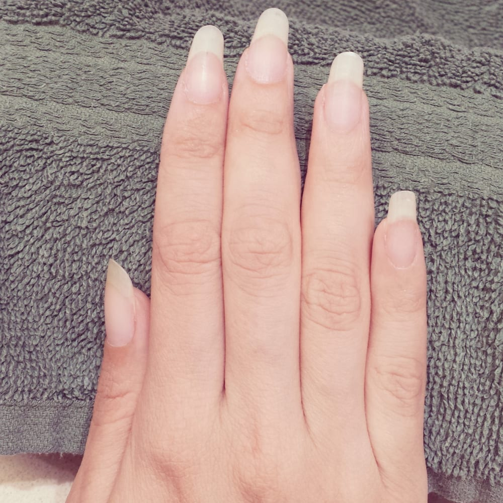 My natural nails, nude. - Yelp