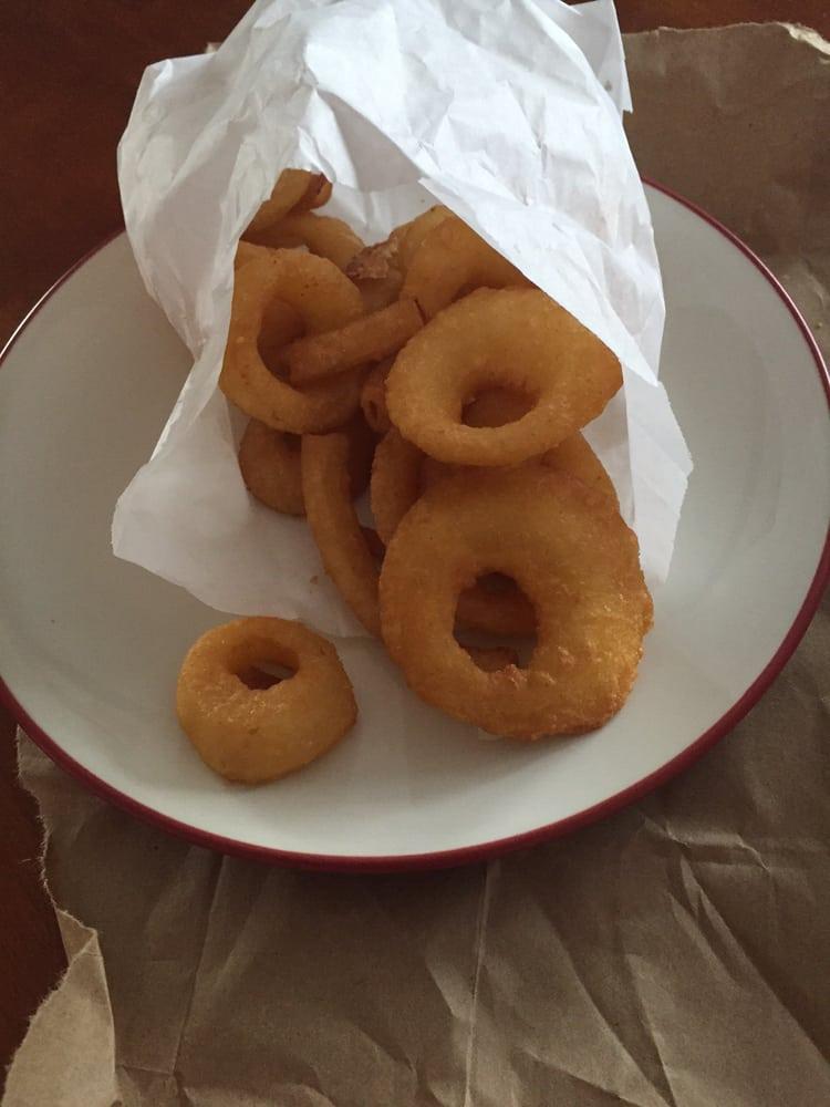 Fluffy crispy onion rings yelp for Hagen s fish market