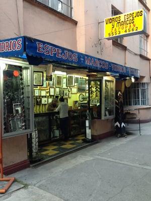 photo of espejos marcos vidrios vitrales mxico df mexico