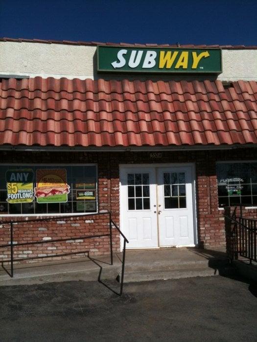 Subway: 352 Bear Mountain Blvd, Arvin, CA