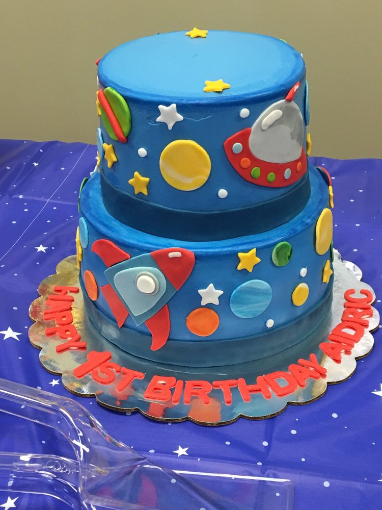 outer space birthday cake yelp