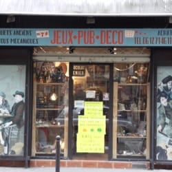 Jeux pub d co magasin de jouets 43 rue felix faure for Deco in paris avis