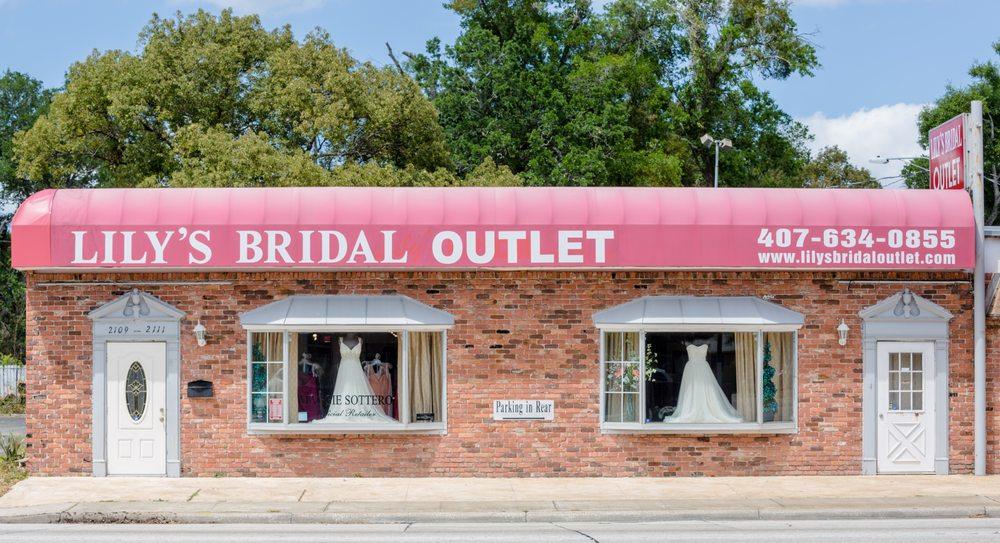 Lily s bridal outlet tienda para novias 2109 e for Orlando wedding dress shops