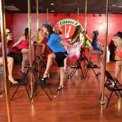 party Amateur pole dancing