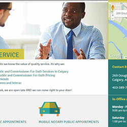 how to become a notary public calgary