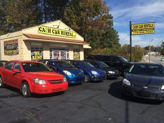 Cash Car Rentals >> Low Rate Rental Car 1104 Veterans Memorial Hwy Sw Mableton Ga Auto