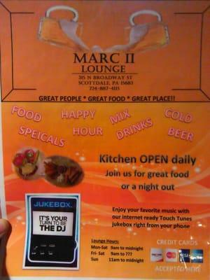 Marc II Bar & Lounge - Restaurants - 315 N Broadway St