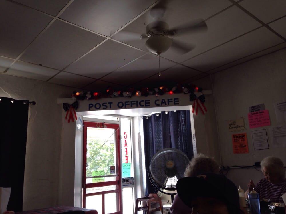 Post Office Cafe: 201 W Main St, Buckholts, TX