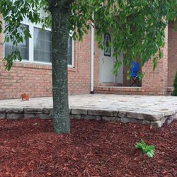 Photo Of Superior Lawn Care Ypsilanti Mi United States Paver With Mulched