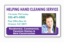 Helping Hand Cleaning Service: 505 Church St, Oriental, NC