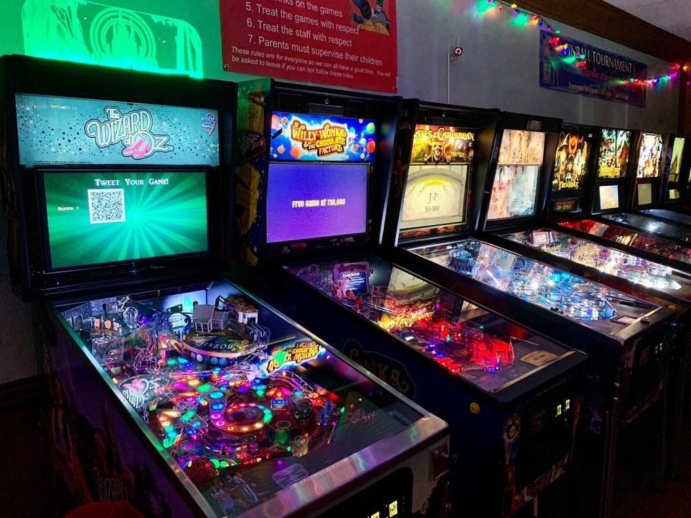The Basement Arcade Bar: 14 Union St S, Concord, NC