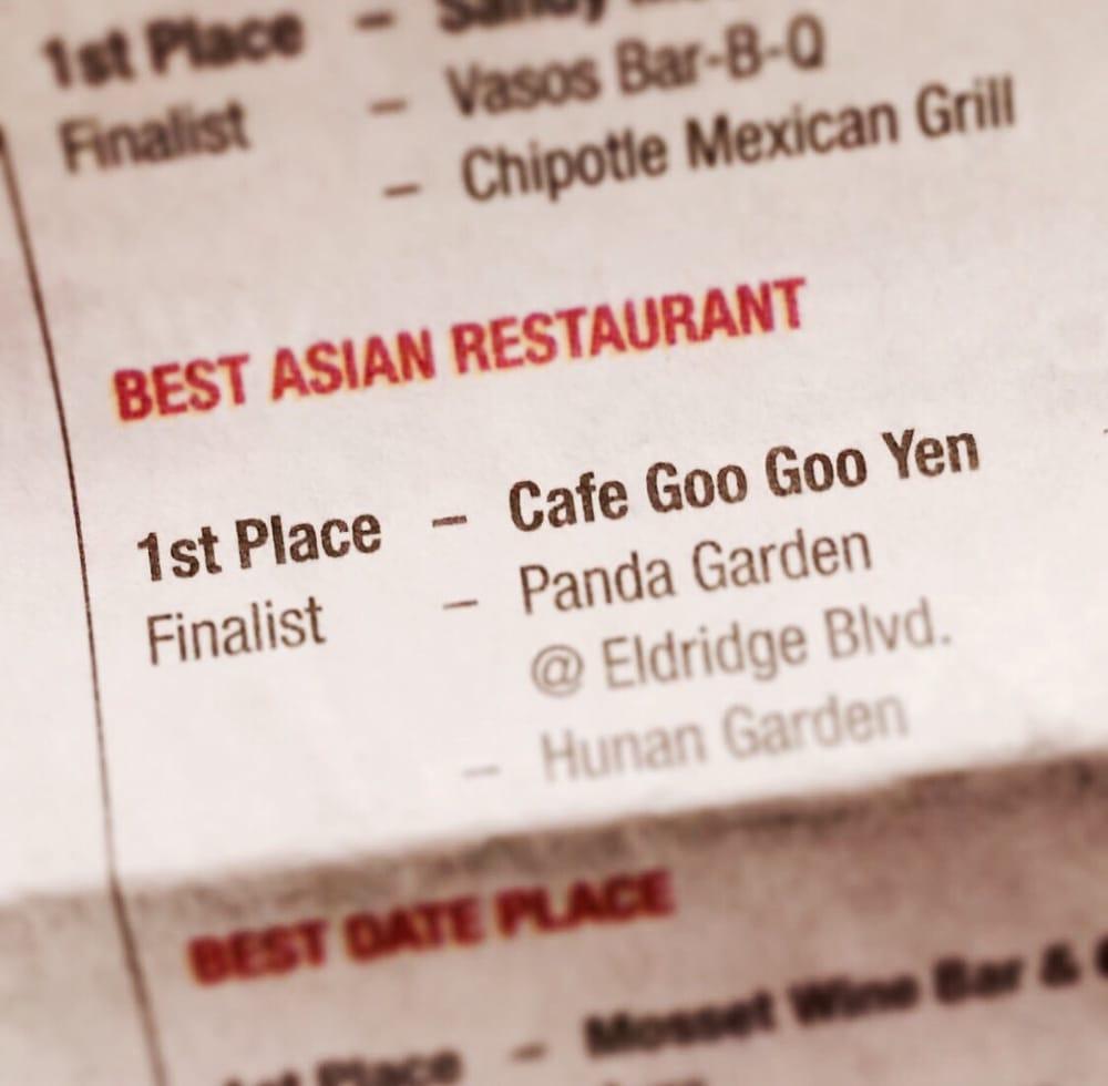 Cafe Goo Goo Yen Sugar Land Tx